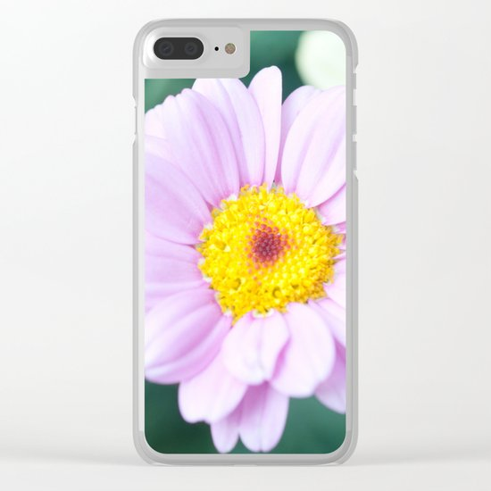 Soft Pink Marguerite Daisy Flower #1 #decor #art #society6 Clear iPhone Case