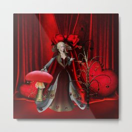 Fairy of the hearts Metal Print