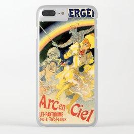 The rainbow L'arc en ciel ballet Clear iPhone Case