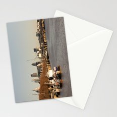 London at sunset Stationery Cards