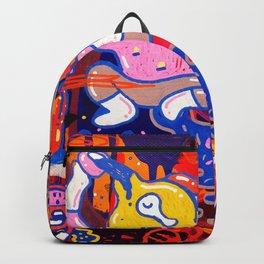 Drunken monster Backpack