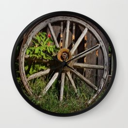 Like a Wagon Wheel Wall Clock