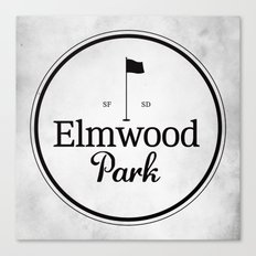 Elmwood Park Canvas Print