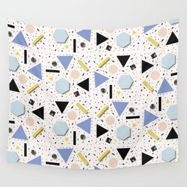 Shapes Everywhere Wall Tapestry