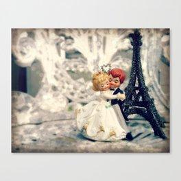 Dancing at the Wedding Canvas Print
