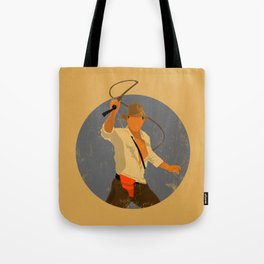 Indiana Cracked Texture Tote Bag
