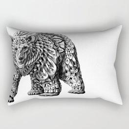 Ornate Bear Rectangular Pillow