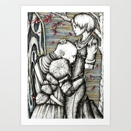 Apology Art Print