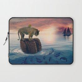 Tiger Drifting by GEN Z Laptop Sleeve