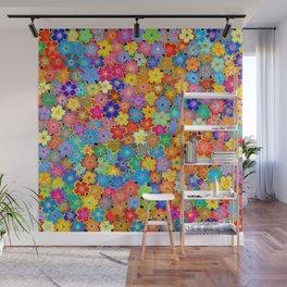 Art of Flowers Wall Mural