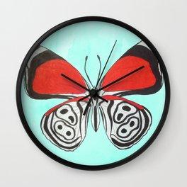 88 Butterfly Wall Clock