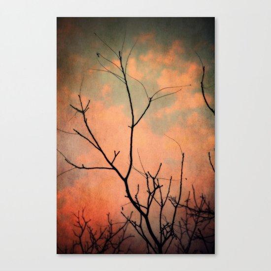 Upon Dawn Canvas Print