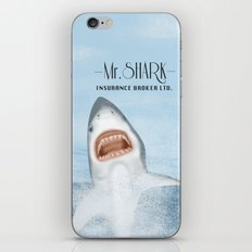 Mr. Shark Insurance Broker Ltd. iPhone & iPod Skin