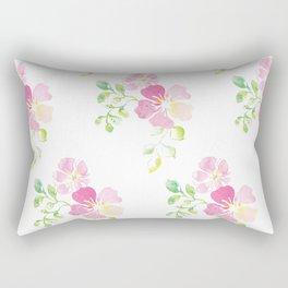 aquarel flowers Rectangular Pillow