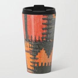 Caucasian Patchwork Travel Mug