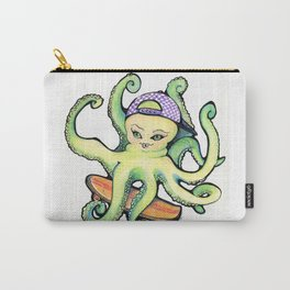OctoSkater Carry-All Pouch