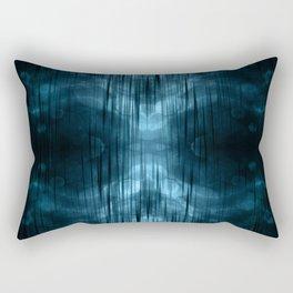 Al-ien Blue Rectangular Pillow