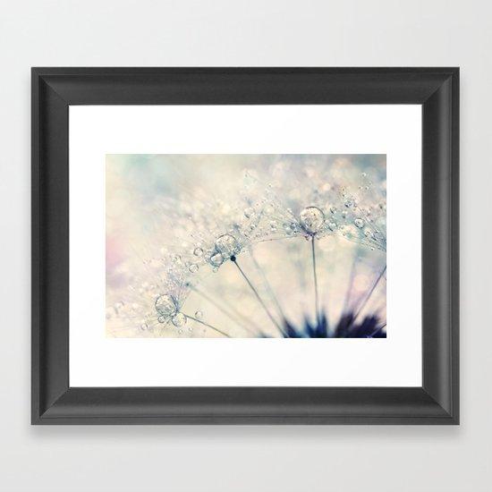 Dandy Drops Framed Art Print