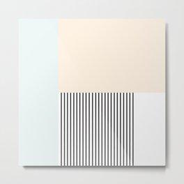 Pastelart III Metal Print