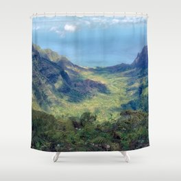 Kalalau Valley, Kauai Shower Curtain