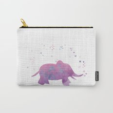 Love is in the air - Elephant animal watercolor illustration Carry-All Pouch