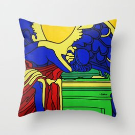 ANGELS DON´T DIE Throw Pillow