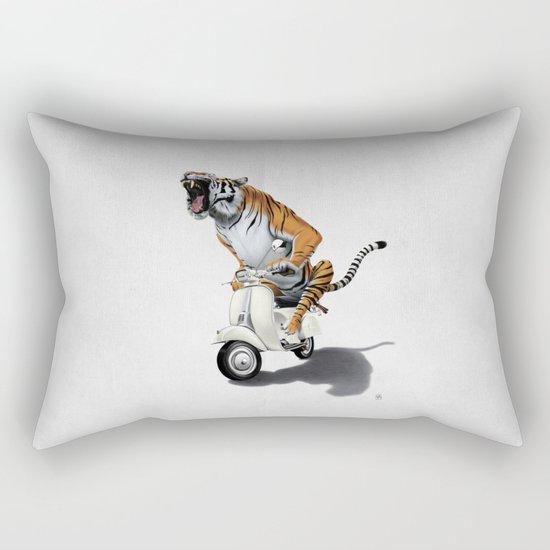 Rooooaaar! (Wordless) Rectangular Pillow
