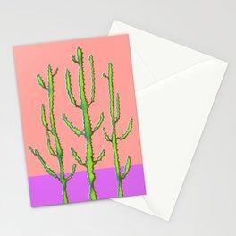 Three Amigos Cacti Stationery Cards