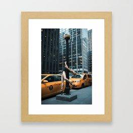 Random Acts of Dancing 5 Framed Art Print