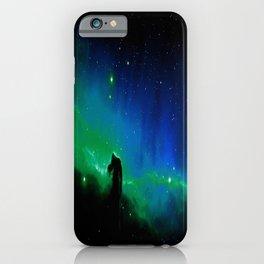 Horsehead nEBula. Blue & Green iPhone Case