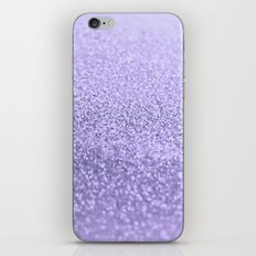 PURPLE LAVENDER iPhone & iPod Skin