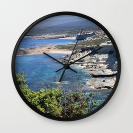 Akamas Peninsula Wall Clock