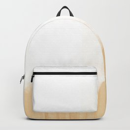 Scandinavian White Backpack