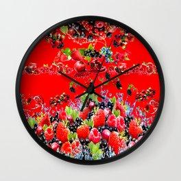 detoxify your heart Wall Clock