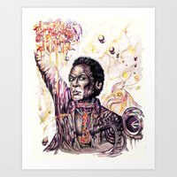 """Musician Who Did """"Kind Of Blue"""" Art Print"""