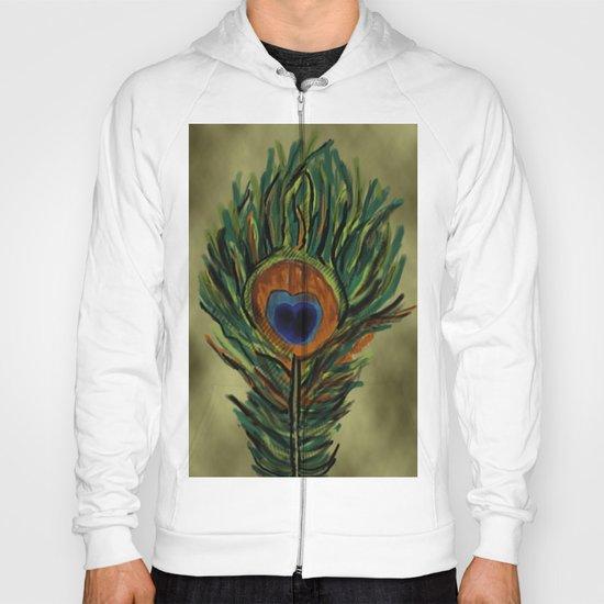 Peacock Pattern  Hoody
