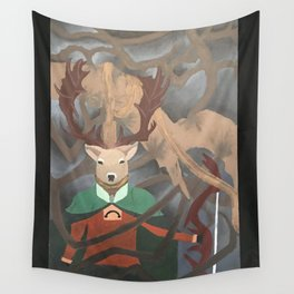 Herne the Hunter Wall Tapestry