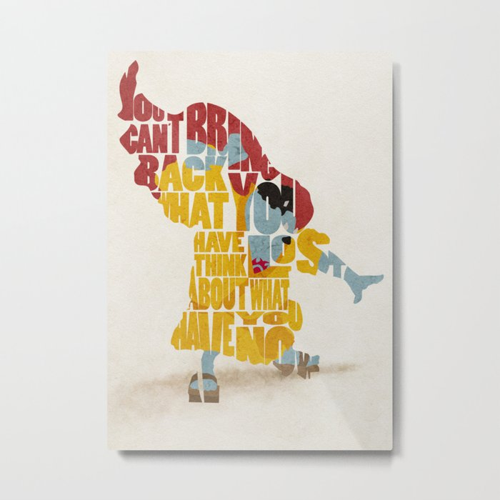 The Knight of the Sea Metal Print