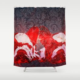 Frenchie's Milky Way Shower Curtain