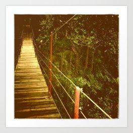Bridge to No Where Art Print