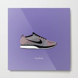 Nike Flyknit Racer Multicolor 2.0 Metal Print