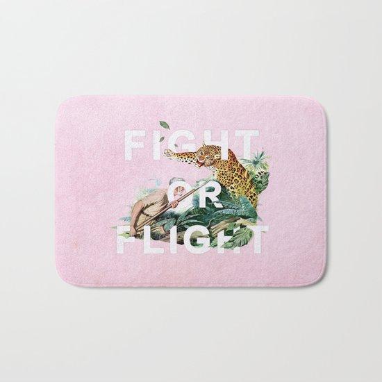 Fight or Flight Bath Mat