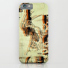 Illustration Mashup iPhone 6s Slim Case