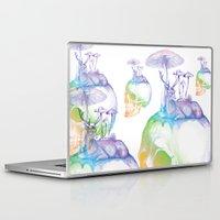 mushroom Laptop & iPad Skins featuring Mushroom by dogooder