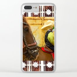 Internal landscapes 4 Clear iPhone Case
