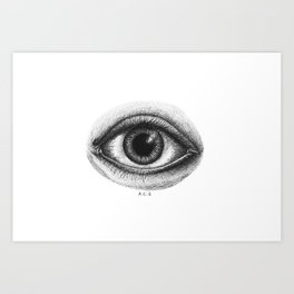 The Omniscient Eye Art Print