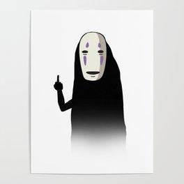 No Face and a Bird Poster