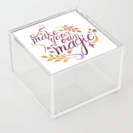 Make Your Own Magic Acrylic Box