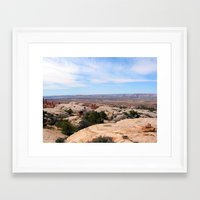utah Framed Art Prints featuring Utah by BACK to THE ROOTS