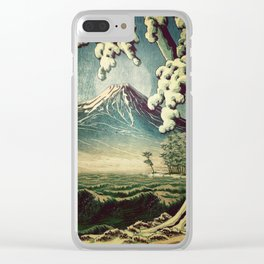 5 Lakes at Moonlight Clear iPhone Case